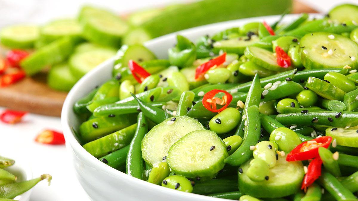 Recipetin Green Bean Salad